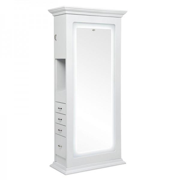 Dir dvipusis veidrodis Adonis su LED apšvietimu